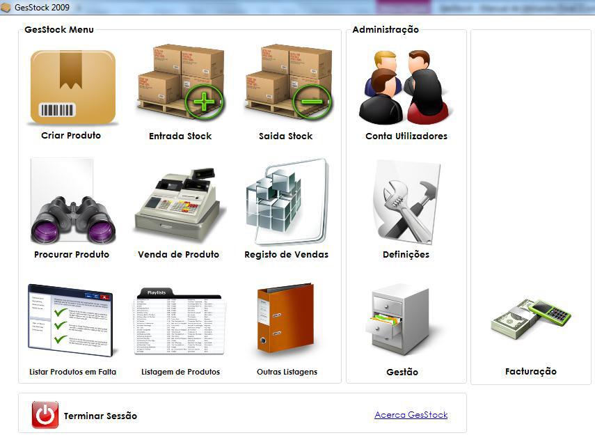 Compro Gesstock - Gestão de Stock e Vendas