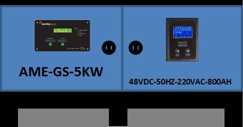 Compro GERADOR SOLAR AME-GS-5KW