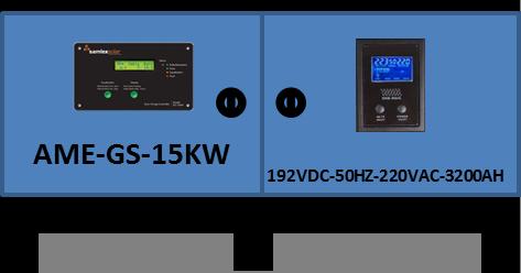 Compro GERADOR SOLAR AME-GS-15KW