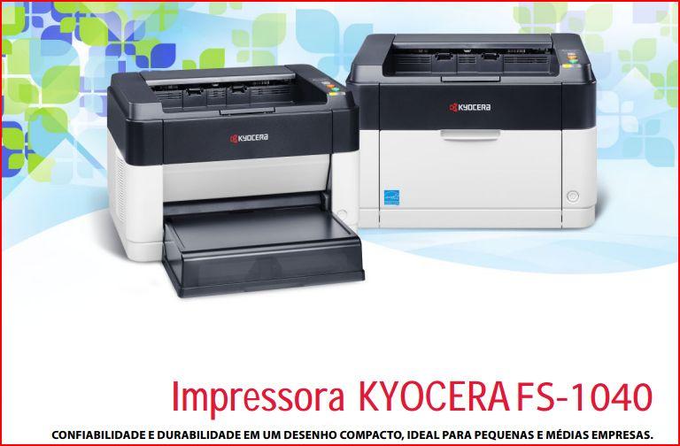 Compro Impressora Kyocera FS-1040