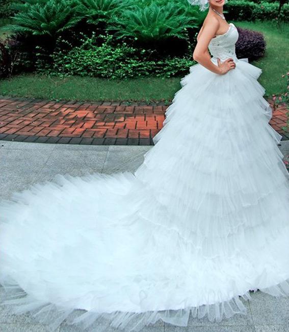 Compro Vestido de Noiva 064