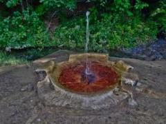 Água mineral curativa