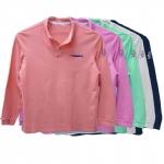 Camisa Polo manga longa com proteção solar