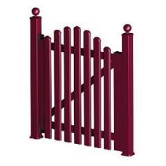 Sistema de portões e grades