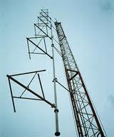 Antena Polarização Circular para transmissão de FM