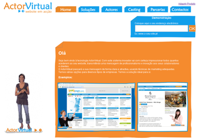 Encomenda Actor Virtual