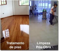Encomenda Tratamento de pisos