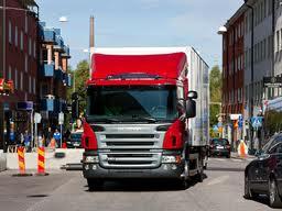 Encomenda Transporte por caminhão