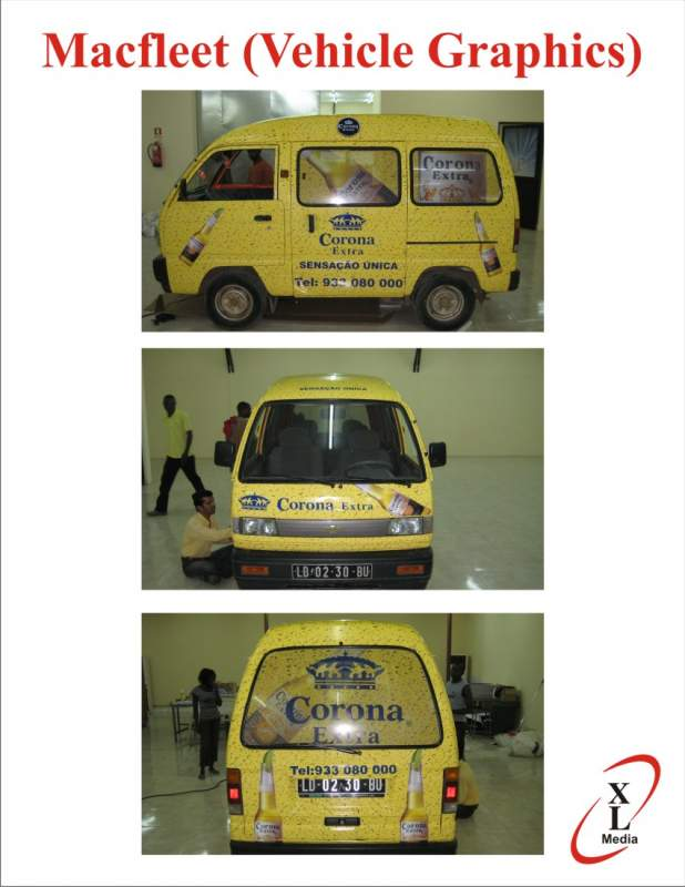 Encomenda Vehicle branding
