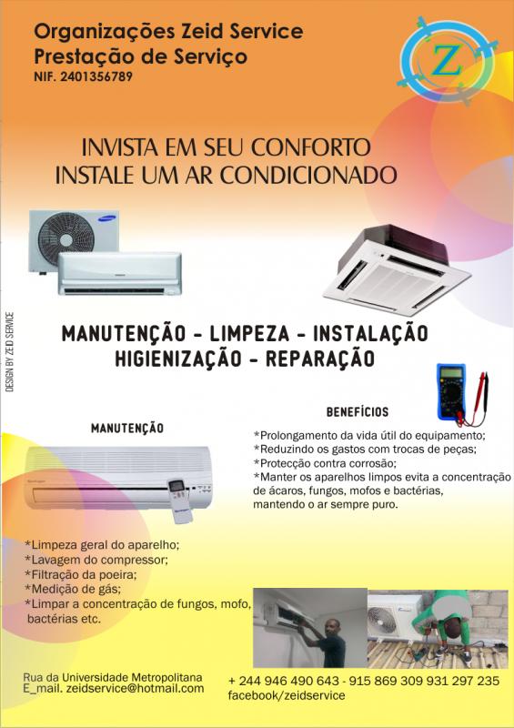 Encomenda Manutenção de Ar-condicionado