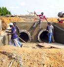 Construction of pipelines laying of local power