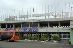 Recepção de passageiros no Aeroporto
