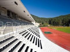 Equipamento de apoio à prática de atletismo