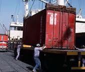 Transportes de contentores